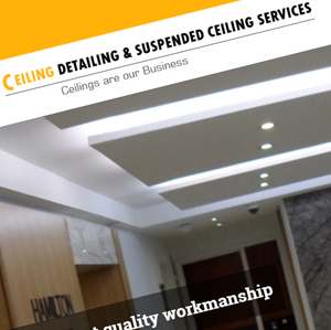 Ceiling Detailing & Suspension Ceiling Services